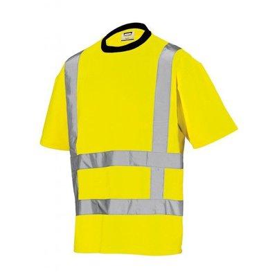 Tricorp T-shirt fluor geel