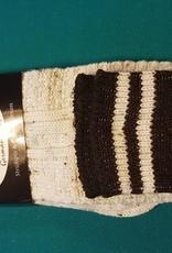 Sokken gemêleerd met bruine band
