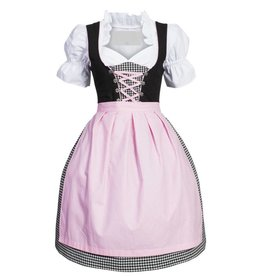 Dirndl jurk Rosa