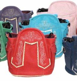 Trachten tas trendy kleuren