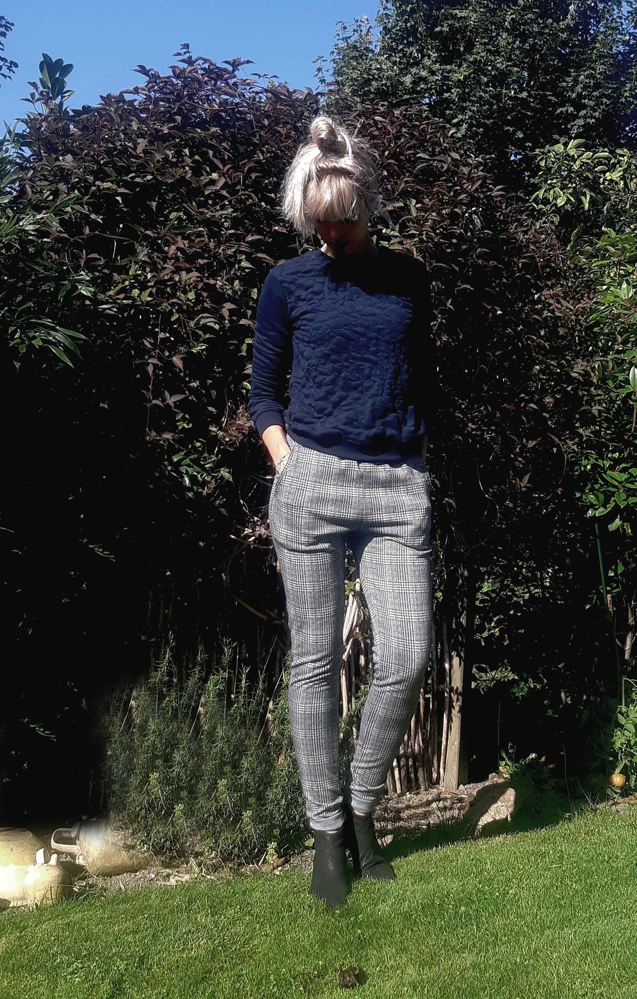 geruite broek extra lang