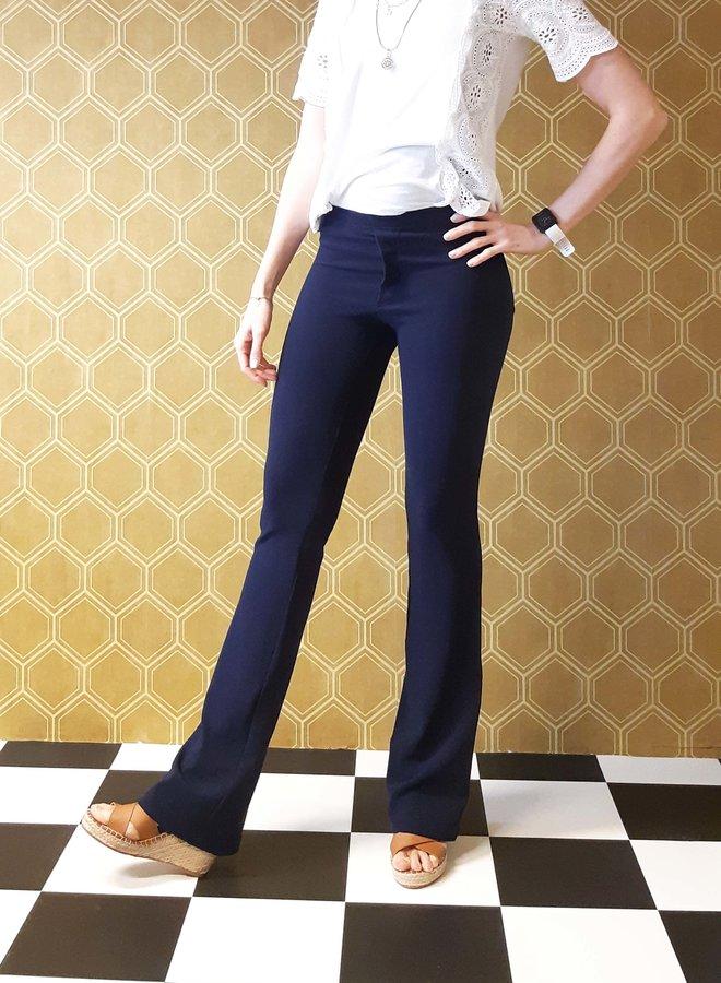 Flared pants blue
