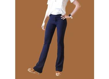 Lange flared pants