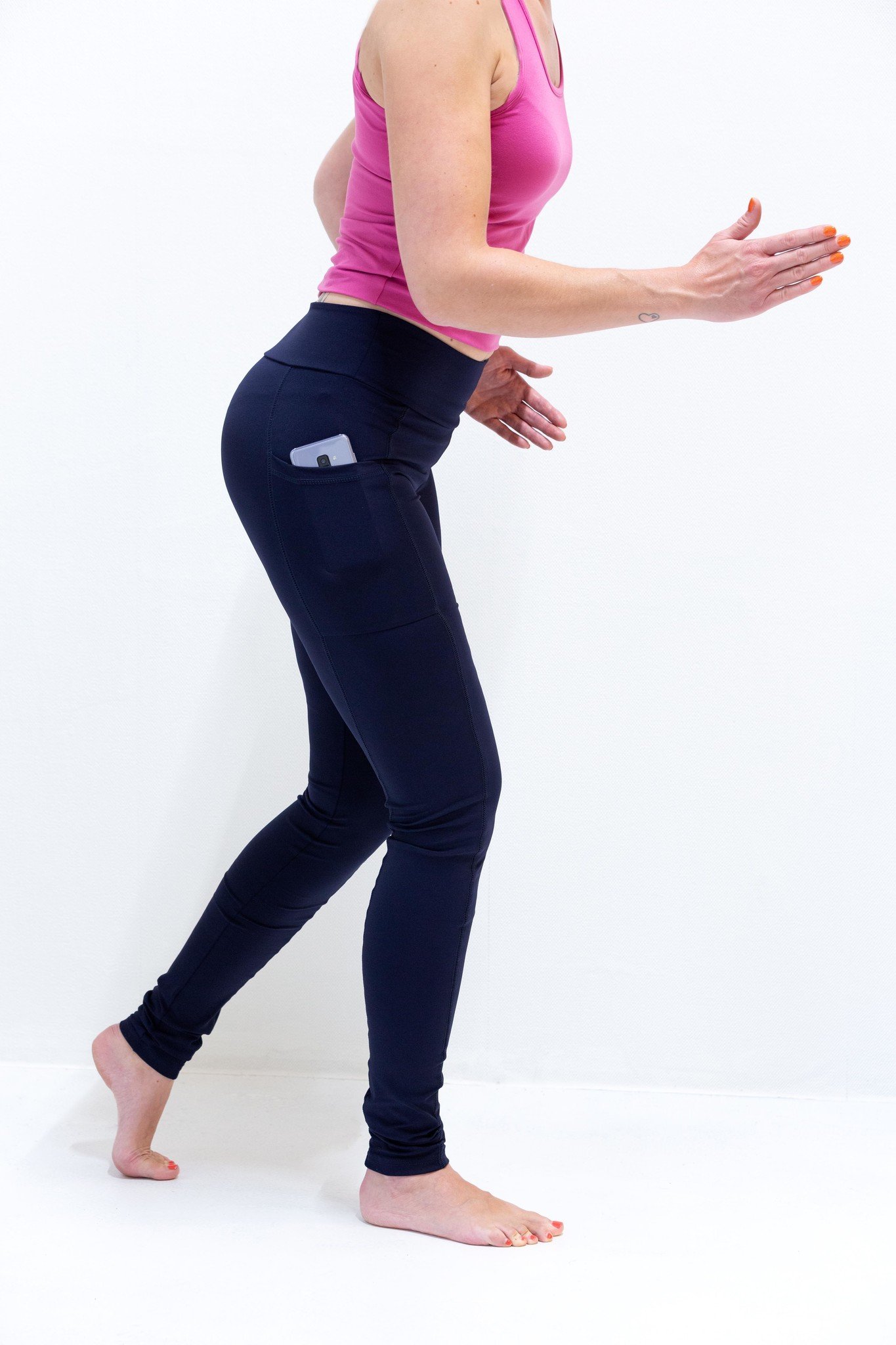 "Extra lange sportlegging | in lengte ""36"