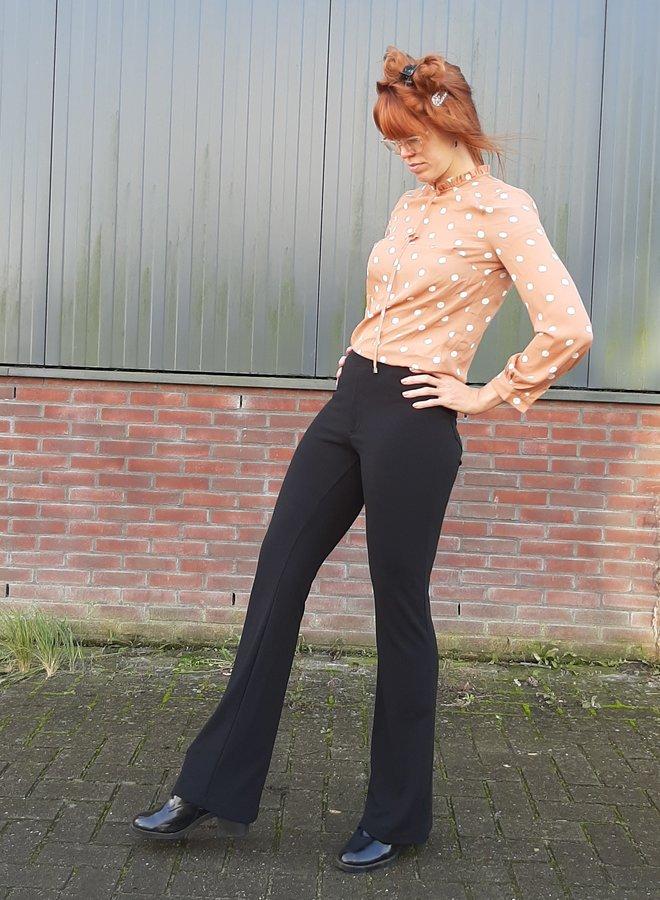 Flared pants black
