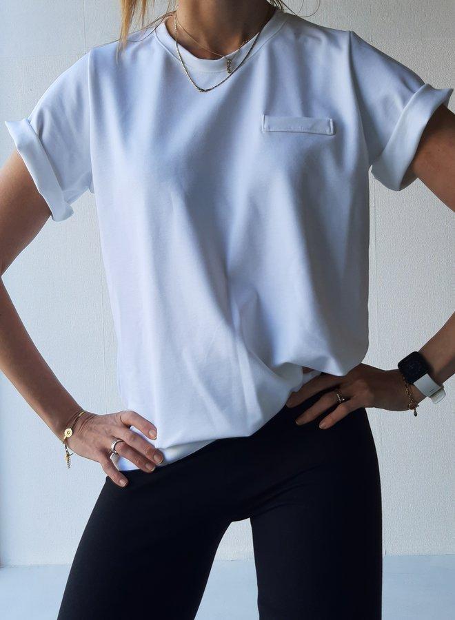 Maxi shirt   white