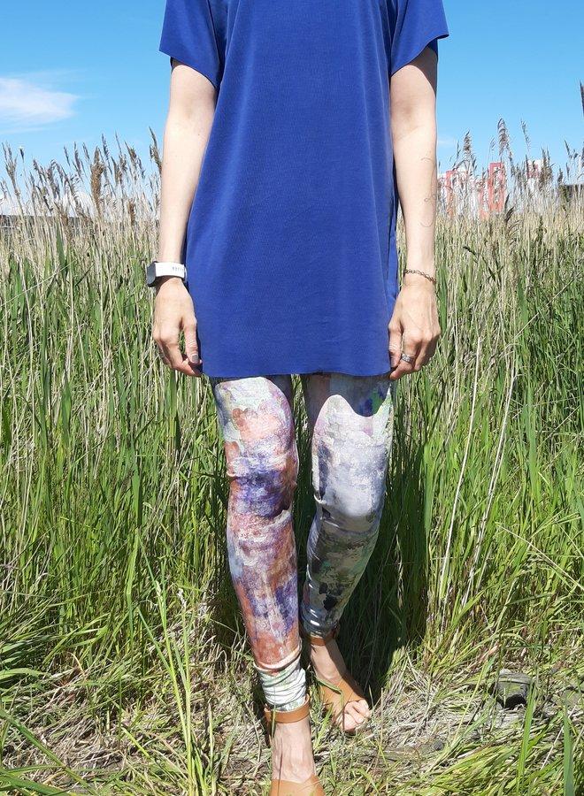 Legging oil paint viscose