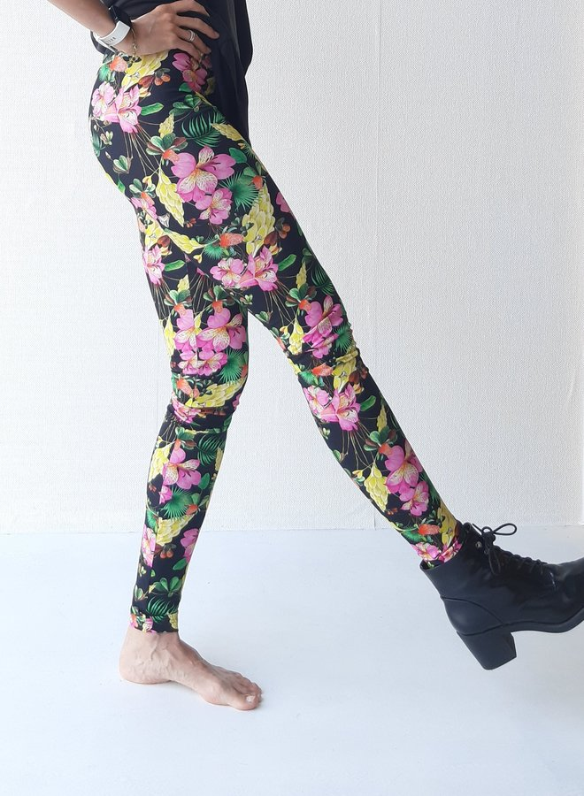 Legging flowers