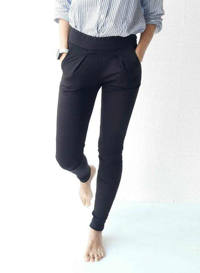 Pantalon | zwart & zacht