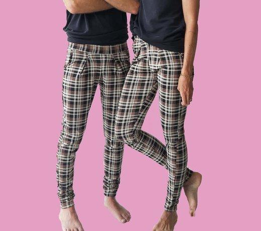 Uni trousers for longer legs