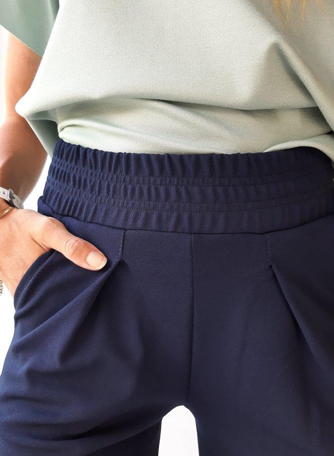 Pantalon | blauw