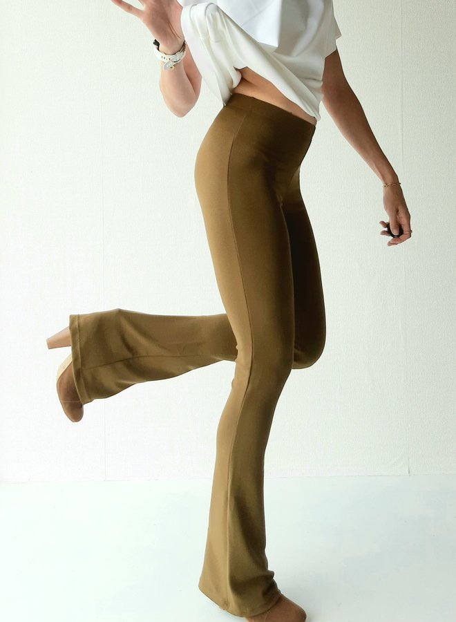 with rib structure and stretch