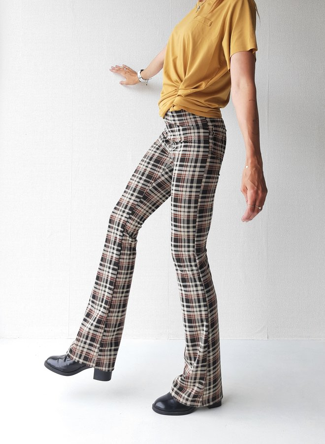 """Flared pants   with extra length   """"36 inches"""