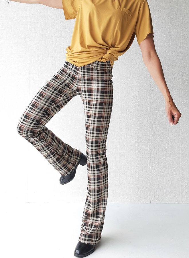 Trousers   checked