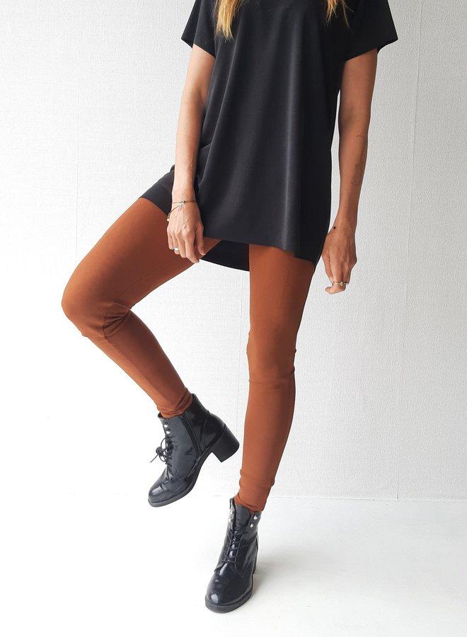 Trousers | cognac | comfort