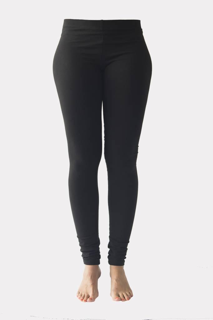 Zwarte lange legging