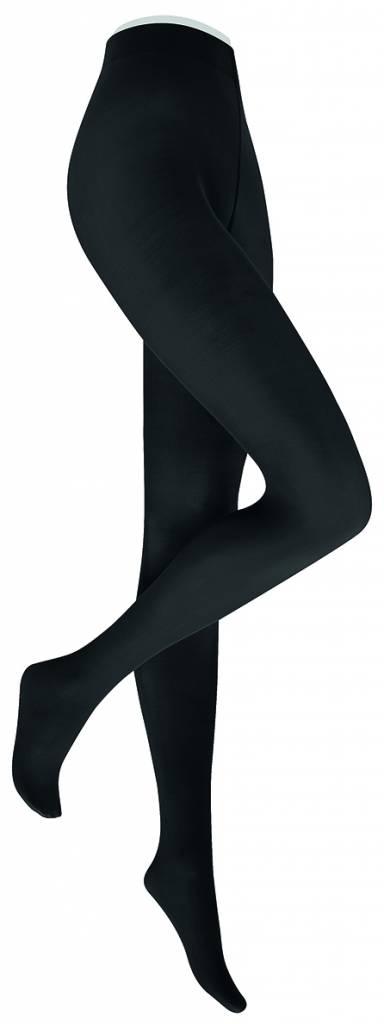 Extra lange panty 40 denier zwart