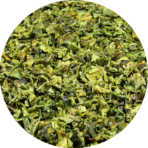 BIO Paprika-Flocken grün 9 mm