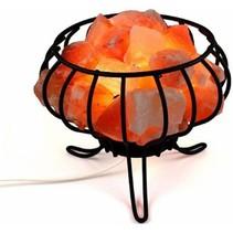 Himalaya-Salzlampe - Feuerkorb - 3 kg