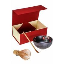 Matcha Premium Geschenkset rot