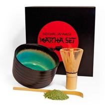 Matcha Premium-Geschenkset - schwarz