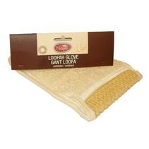 Luffa-Handschuh - weiß