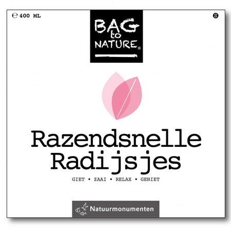 Bag -to-Nature Anbauset - rasendschnelle Radieschen