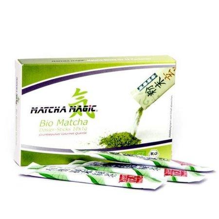 Matcha Magic Bio-Matcha-Tee Dosiersticks - 10 Stück