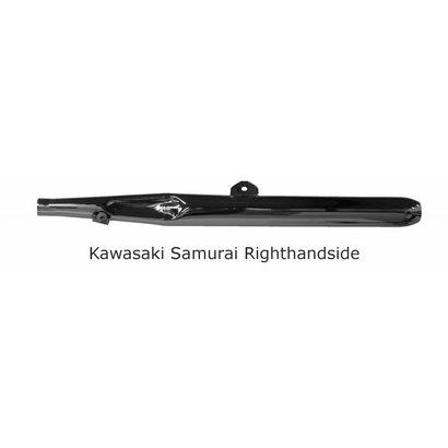 Original Classics Kawasaki Samurai exhaust RHS