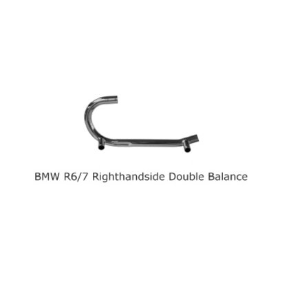 Original Classics BMW R45 R65 pipe righthandside double balancepipe