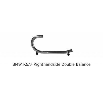 Original Classics BMW /5 /6 /7 pipe righthandside 38 mm double balancepipe
