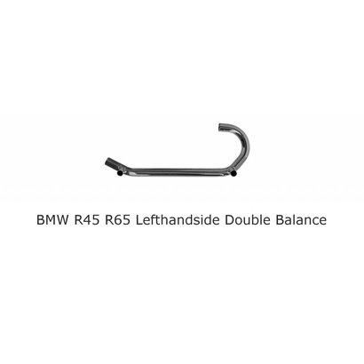 Original Classics BMW R45 R65 Krümmer Links 2x querrohr
