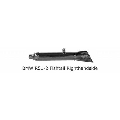 Original Classics BMW R51/2 R67 R67/2  Fishtail Righthandside