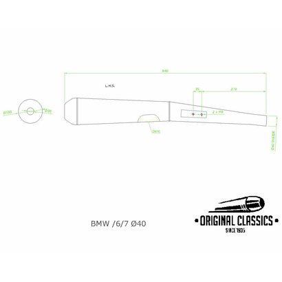Original Classics BMW RT & RS 40 mm LHS