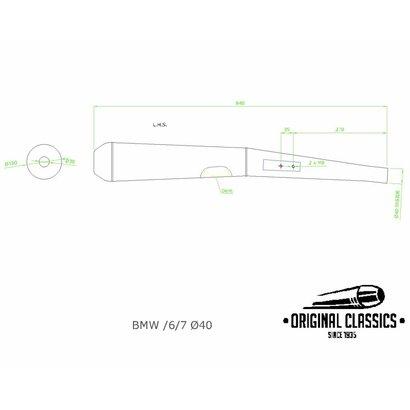 Original Classics BMW RT & RS 40 mm links