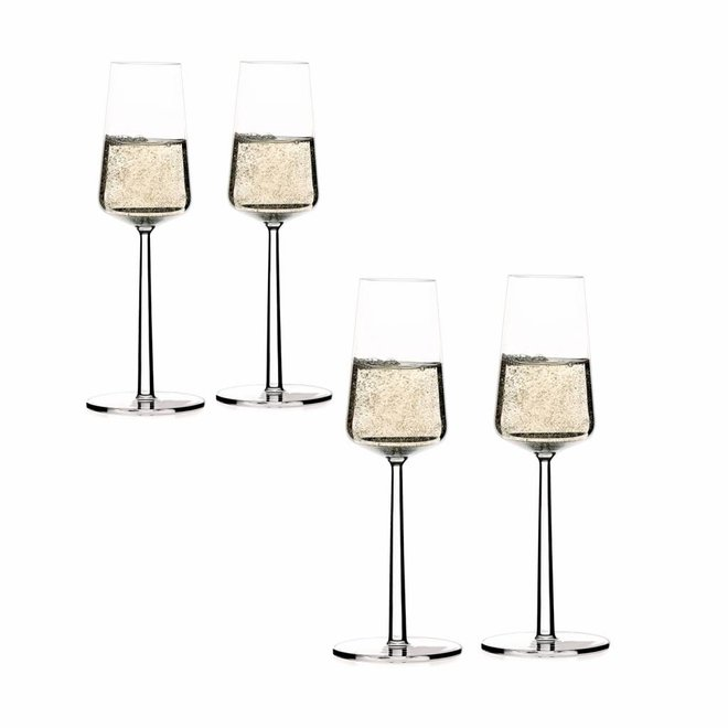 Essence Champagneglas - 21 cl - 4 stuks + 2 gratis
