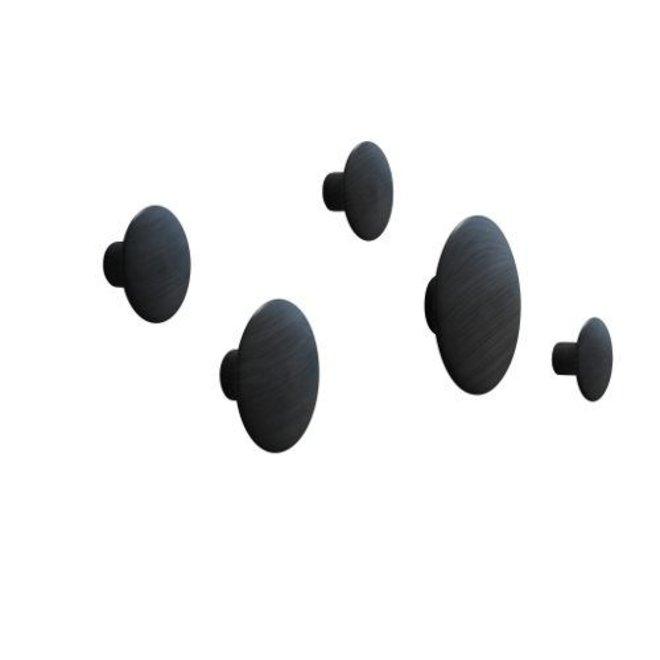 'The Dots' wandhaken set van 5
