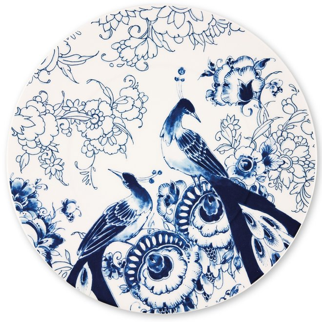 Delfts Blauw onderbord 30,5 cm