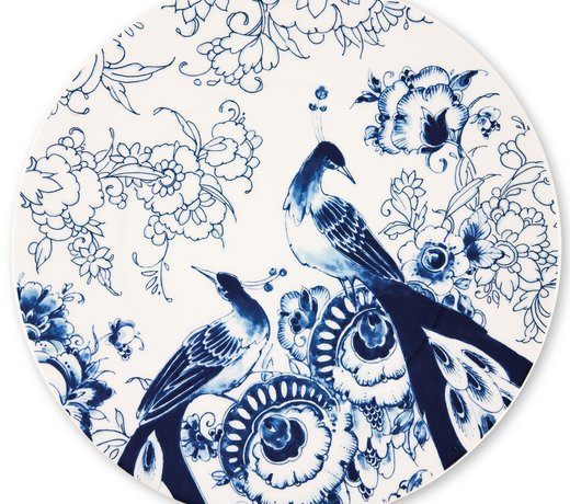 Royal Delft - Peacock Symphony