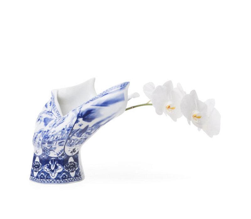 vaas Blow Away Delfts Blauw