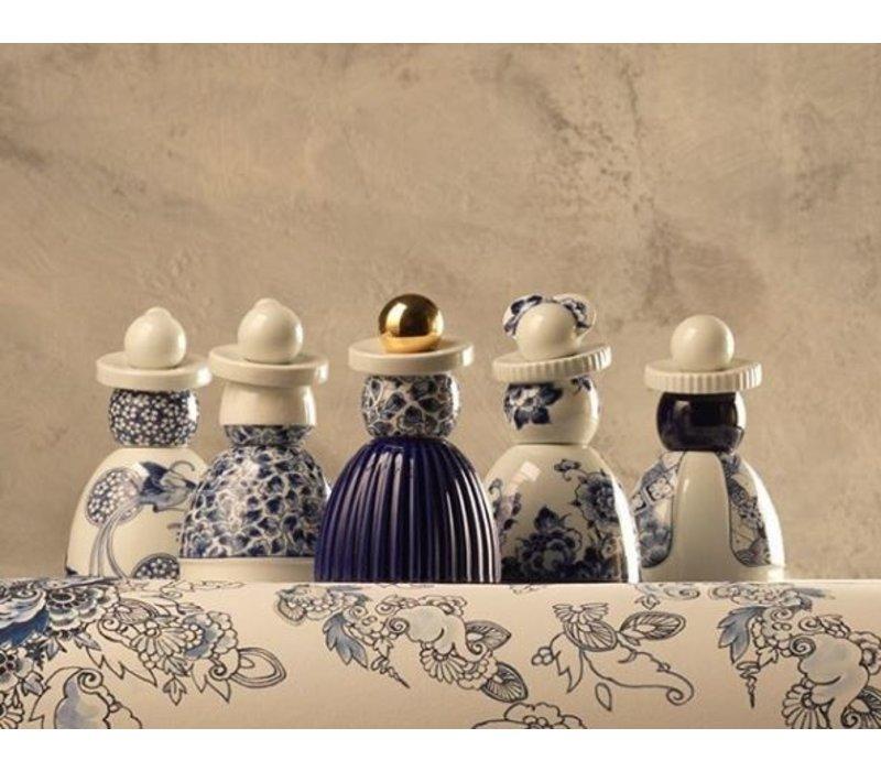 Proud Mary - Cobalt Flower Pattern N03