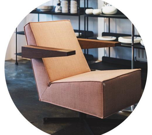 De fauteuils van Teun