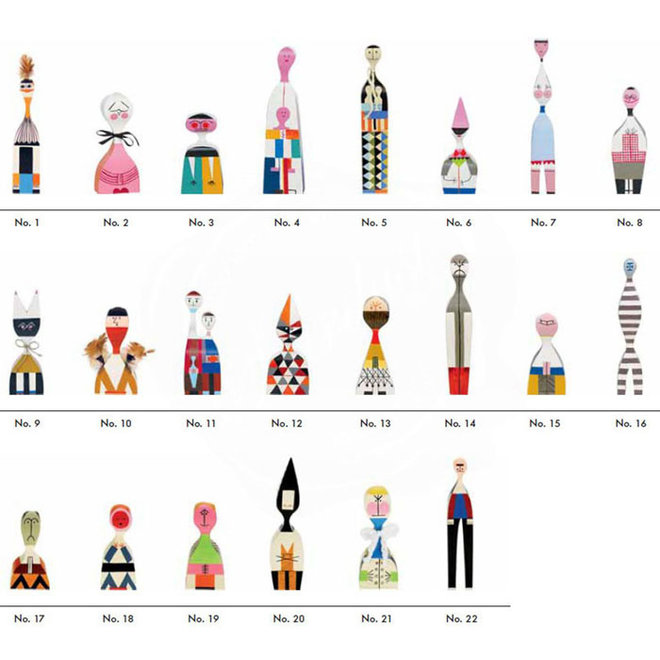 Wooden Doll No.05
