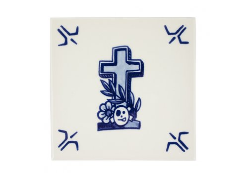 Royal Delft Schiffmacher Tegel Faith