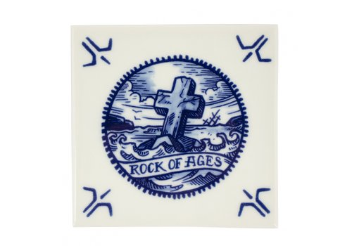 Royal Delft Schiffmacher Tegel Rock of Ages