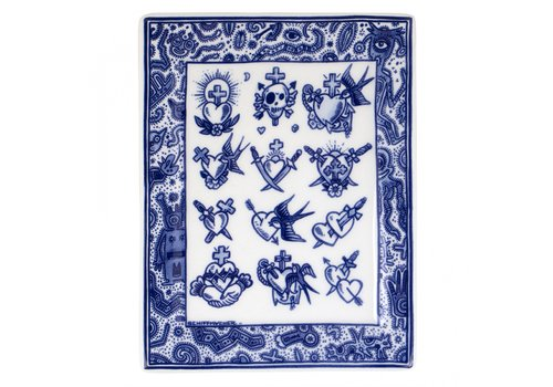 Royal Delft Applique Old School Collection
