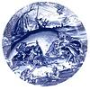 Royal Delft Schiffmacher Bord Pisces Bruegel