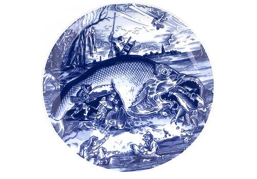 Royal Delft Bord Pisces Bruegel