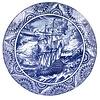 Royal Delft Schiffmacher Bord Paaseiland