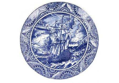 Royal Delft Bord Paaseiland
